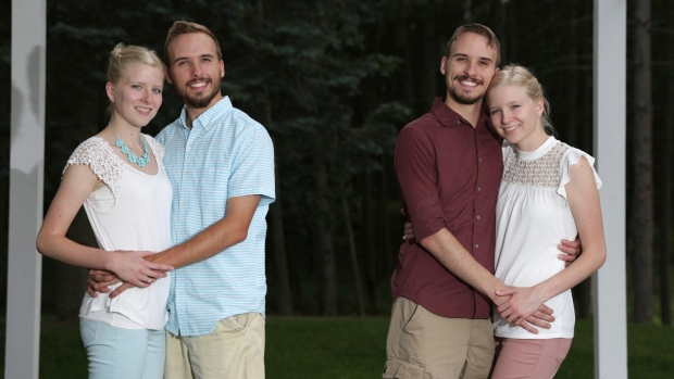 Seeing double? Twin sisters marrying twin brothers in MI this weekend