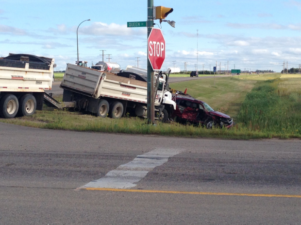 STARS responds to crash south of Yorkton
