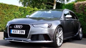 Prince Harry's 2017 Audi RS6 Avant is listed for sale on AutoTrader at approximately $122,600 Canadian. (AutoTrade)