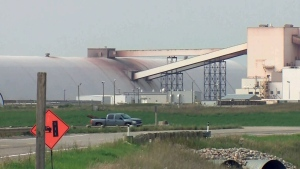 A Nutrien facility is pictured in this file photo.