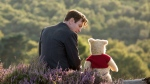 "This image released by Disney shows Ewan McGregor in a scene from ""Christopher Robin."" (Laurie Sparham/Disney via AP)"