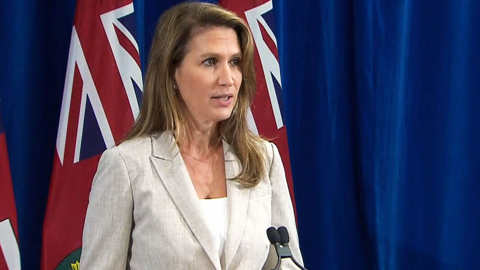 Attorney General Caroline Mulroney announces that the Ont. provincial government will be moving forward with a constitutional challenge to a federal plan to impose a carbon tax on provinces.