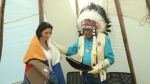 Minister honoured with Blackfoot name
