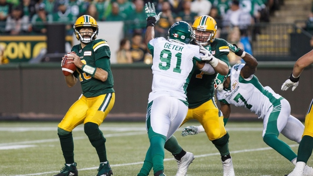 Riders vs. Eskimos, Aug 2, 2018