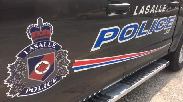 LaSalle Police cruiser, May 4, 2018. (Courtesy LaSalle police / Facebook)