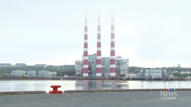 Nova Scotia Power cleans up oil spill