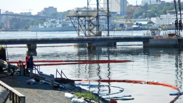 Halifax oil spill