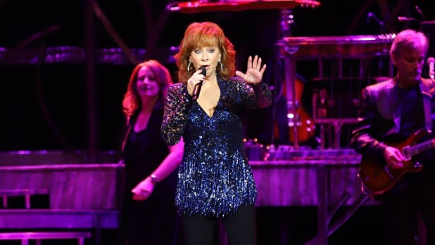 Reba McEntire performs at Caesars Windsor in Windsor, Ont., on Thursday, Aug. 2, 2018. (Melanie Borrelli / CTV Windsor)