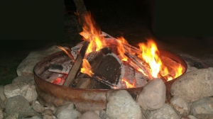 A fire ban prohibits the use of all open fires, including campfires and charcoal briquettes.