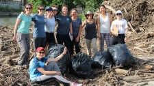 U of T researchers look at plastic in Don River