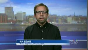 J.P. Lewis, UNBSJ Political Science Professor