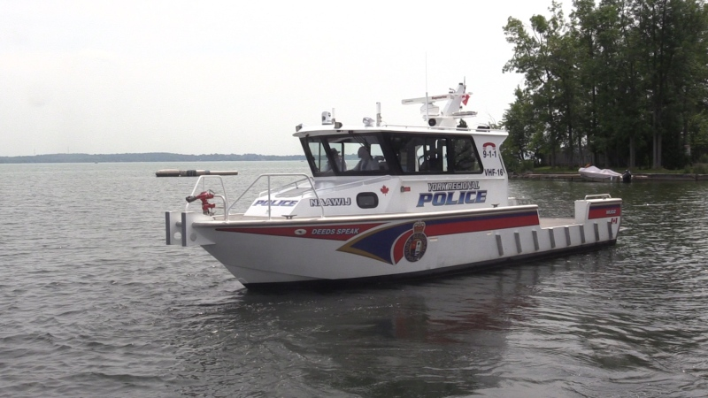 York Regional Police Marine Unit patrols the waterways on Friday, August 3, 2018. (Roger Klein)