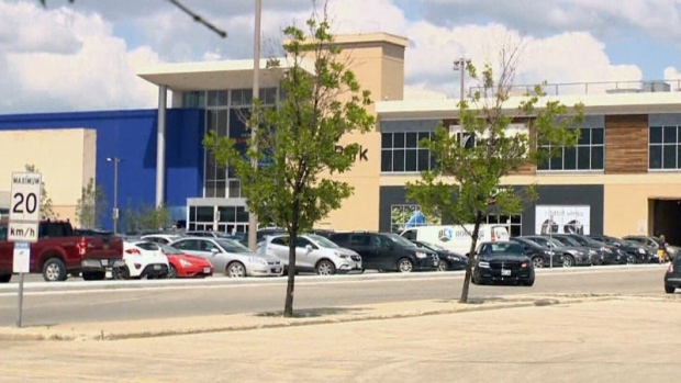 An employee of a CF Polo Park Shopping Centre store was rushed to hospital Thursday after attempting to stop a youth from shoplifting, police say. File photo.