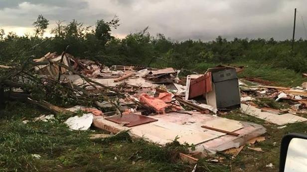 Man dies in tornado near Alonsa, Manitoba, RCMP says