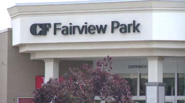 Cadillac Fairview Fairview Park Mall