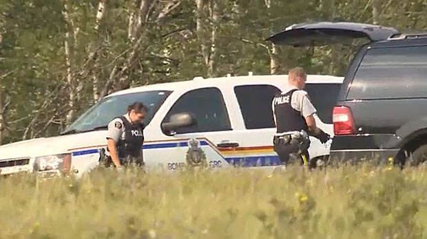 While Cochrane RCMP have released a man detained in connection with a tourist shooting, officers are still working on gathering evidence to solve the case.
