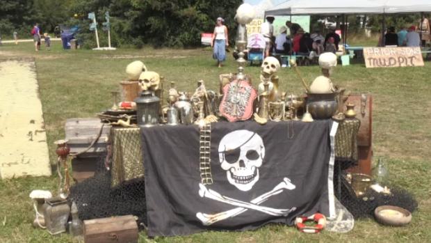 Pirate memorabilia