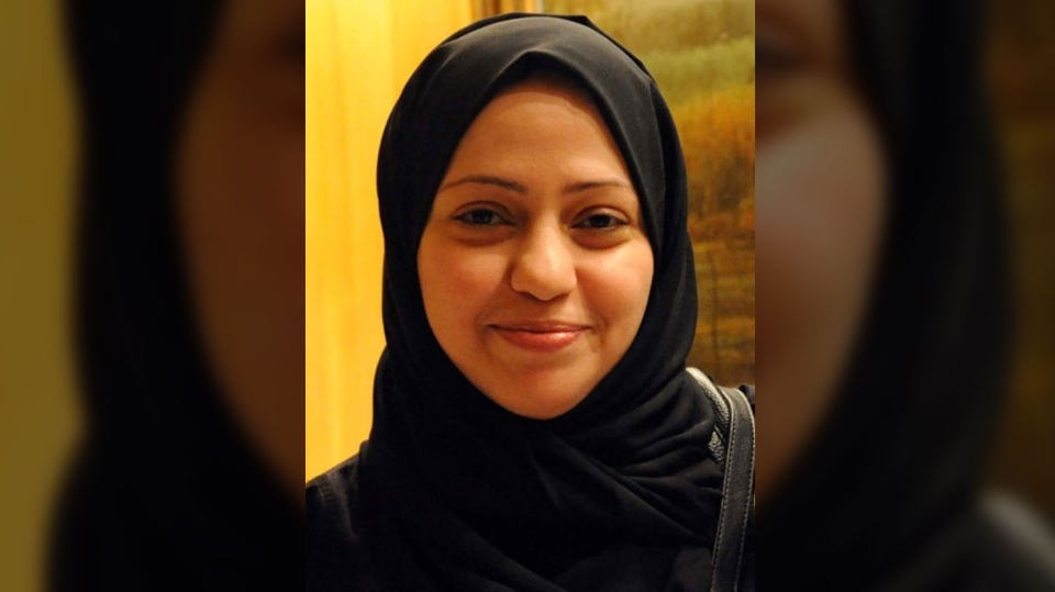 Samar Badawi is seen in this undated image. (Source: Amnesty International)