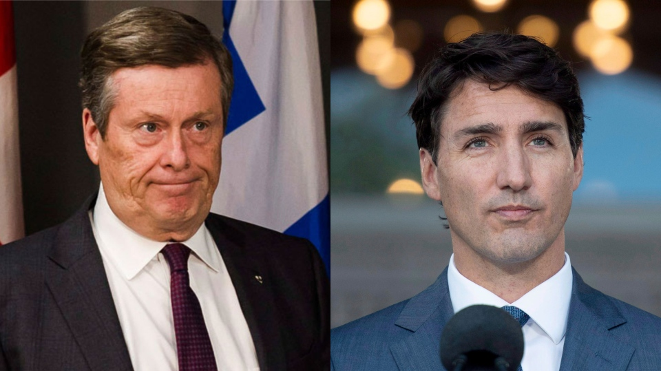 Toronto Mayor John Tory recently penned a letter to Prime Minister Justin Trudeau, urging him to consider a law that would ban the sale of handguns in the city. (THE CANADIAN PRESS/Christopher Katsarov/Justin Tang)