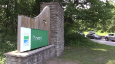 Sign for Pinery Provincial Park