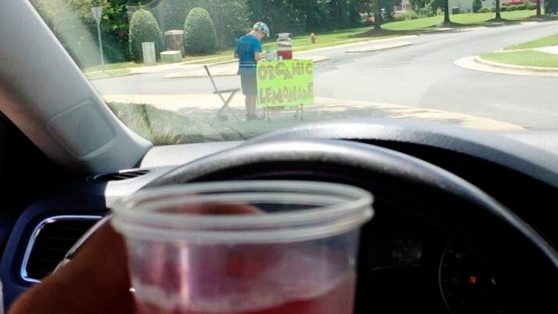 A 9-Year-Old Boy's Lemonade Stand Was Robbed at Gunpoint