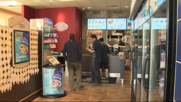 The Dairy Queen in northeast Calgary has been tested for a gas leak on several occasions.