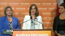 Andrea Horwath on sex-ed