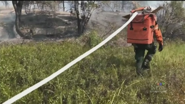 Northern Ontario forest fire update
