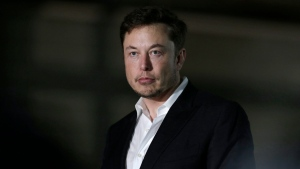 In this June 14, 2018, file photo Tesla CEO and founder of the Boring Company Elon Musk speaks at a news conference in Chicago. (AP Photo/Kiichiro Sato, File)