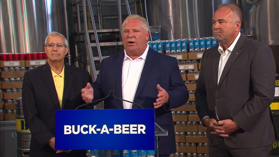 Premier Doug Ford announces plan at Picton brewery