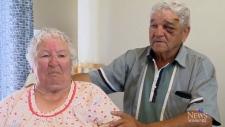 Couple survives as tornado collapses home