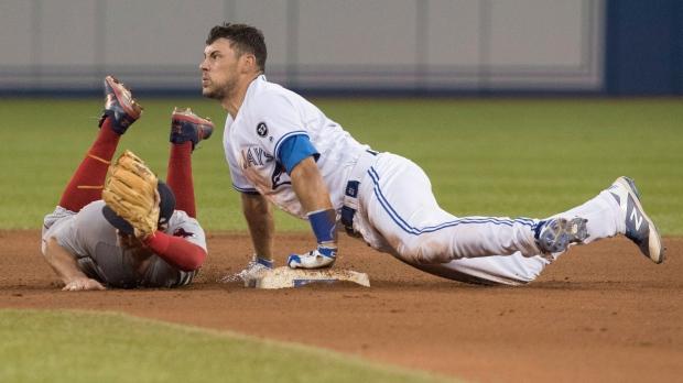 Toronto Blue Jays' Luke Maile