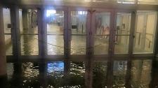 Union Station flooding
