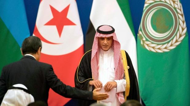 Saudi Arabia's Foreign Minister Adel al-Jubeir