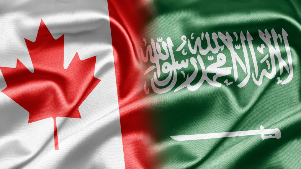 Flags of Canada and Saudi Arabia (Ruskpp / iStock)