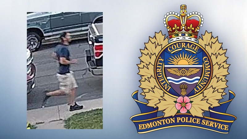 This man allegedly committed three sexual assaults in May and July in northeast Edmonton. (Supplied)