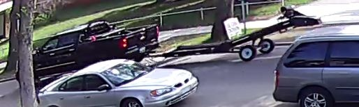 This Chevrolet Silverado was seen in Newton and Beverly the two days where the three sexual assault acts reportedly occurred. (Supplied)