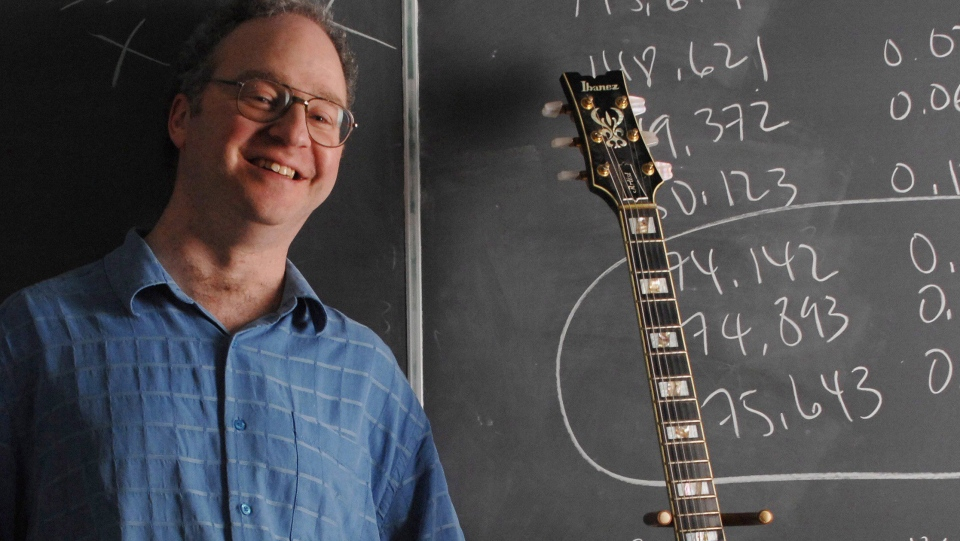 "Jason Brown, a mathematics professor at Dalhousie, is shown in a handout photo. Researchers from Canada and the U.S. are using math to unravel one of the greatest musical mysteries of the modern era: Who wrote ""In My Life,"" a nostalgic rock ballad on the Beatles 1965 album ""Rubber Soul."" (THE CANADIAN PRESS/HO)"