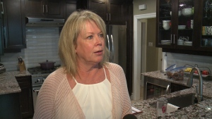 Gail Downey at a loss as to how thieves stole cars
