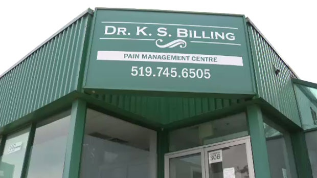 Public health has ordered Dr. K. S. Billing Pain Management Centre to stop performing some procedures citing the possibility of bacterial infection.
