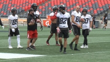 Ottawa Redblacks back to work