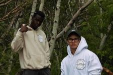 Emmanuel Yusuf and Grayson Isley