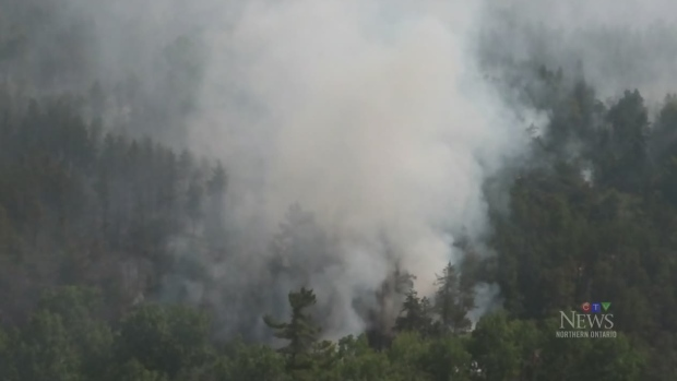 Northern Forest fires