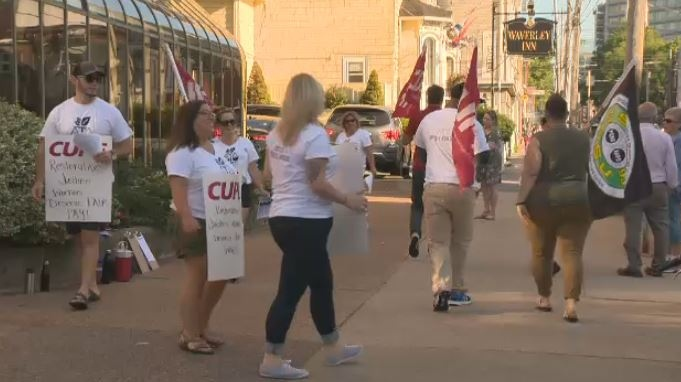 Nova Scotia's six restorative justice case workers have been on strike since July 30.