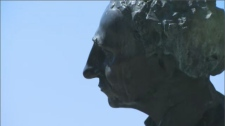 Despite his contributions to Canada's development as a nation, Sir John A. Macdonald is also remembered as an architect of residential schools and the Indian Act of 1876 – which severely limited the rights of Indigenous peoples. (CTV Montreal)