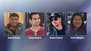 These four friends from Banff were killed in a fiery crash on Highway 93 near Jasper.