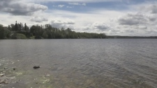Raw sewage in Porcupine Lake