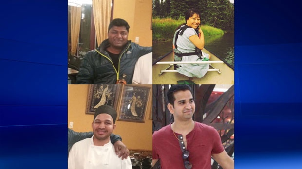 Four other people who died in a serious crash on Highway 93 all worked in the hospitality industry in the Town of Banff. (Supplied)