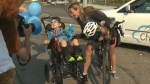 Calgary woman's ride for life