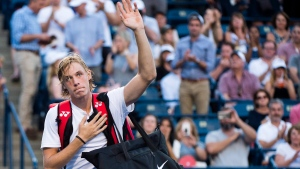 Denis Shapovalov loses at Rogers Cup